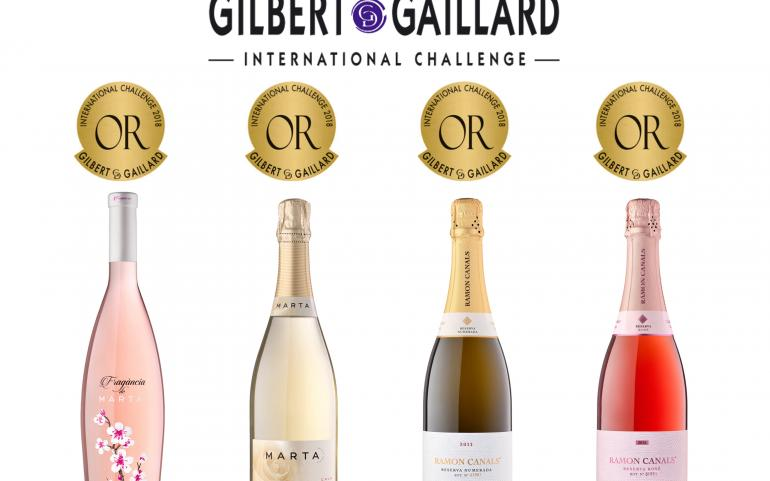 4 MEDALLES D'OR A GILBERT & GAILLARD INTERNATIONAL CHALLENGE 2018
